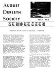 August Derleth Society Newsletter, May 1978