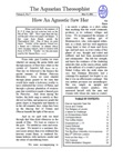 The Aquarian Theosophist, November 2000