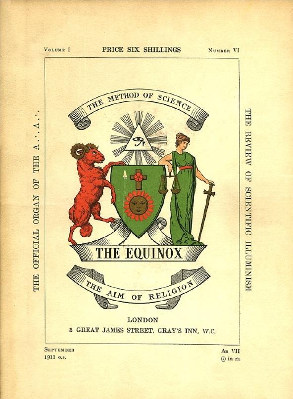 The Equinox, September 1911