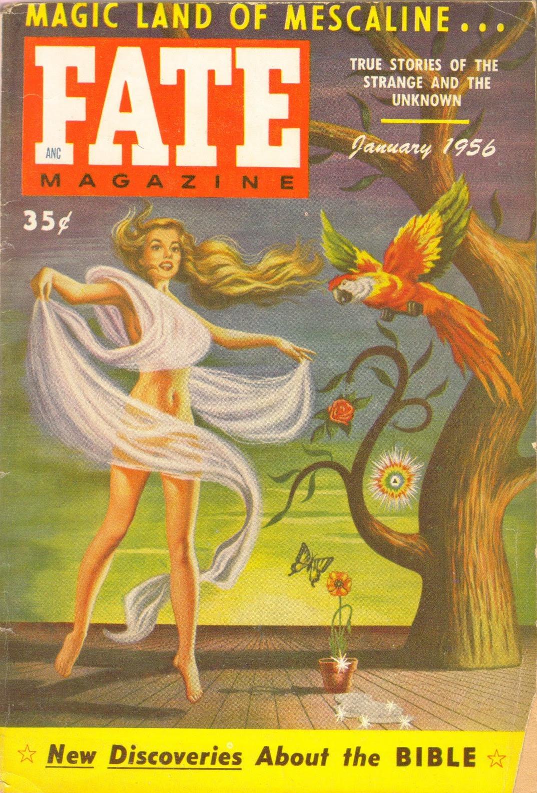 FATE magazine, January 1956