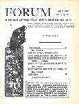 Ray Palmer's Forum, July 1969