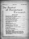 Journal of Borderland Research, July 1964