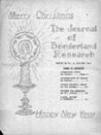 Journal of Borderland Research, November 1964
