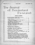 Journal of Borderland Research, July 1965