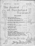Journal of Borderland Research, November 1971