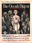 The Occult Digest, October 1925