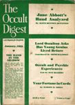 The Occult Digest, January 1933