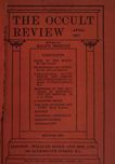 Occult Review, April 1907