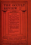Occult Review, May 1907