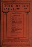 Occult Review, July 1907
