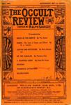 Occult Review, May 1908