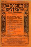 Occult Review, August 1908