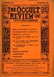Occult Review, September 1908