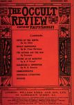 Occult Review, March 1909