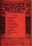 Occult Review, April 1909
