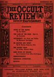 Occult Review, June 1909