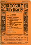 Occult Review, September 1909