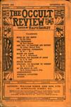 Occult Review, October 1909