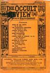 Occult Review, March 1910