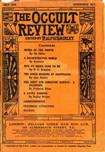 Occult Review, July 1910