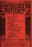 Occult Review, September 1910