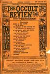 Occult Review, December 1910