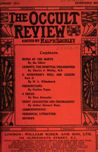 Occult Review, January 1911