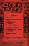 Occult Review, March 1911