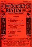 Occult Review, April 1911