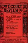 Occult Review, May 1911