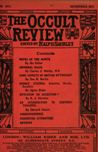Occult Review, June 1911