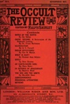 Occult Review, July 1911