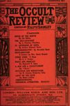 Occult Review, August  1911