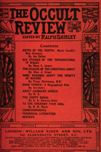 Occult Review, December 1911