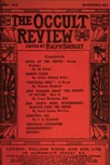 Occult Review, January 1912
