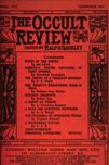 Occult Review, April 1912