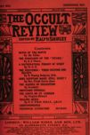 Occult Review, May 1912