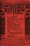 Occult Review, June 1912