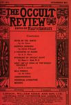 Occult Review, June 1913