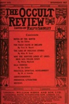 Occult Review, August  1913