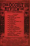 Occult Review, October 1913