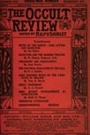 Occult Review, December 1913