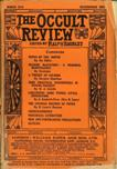 Occult Review, March 1914