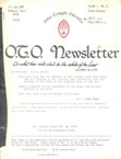 O.T.O. Newsletter, March 1978