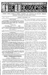 The Theosophist, November 1879