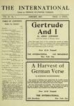 The International, January 1917