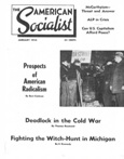 The Amerrican Socialist, January 1954