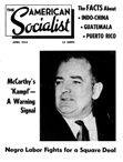 The Amerrican Socialist, April 1954