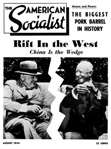The Amerrican Socialist, August 1954