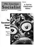 The Amerrican Socialist, February 1955